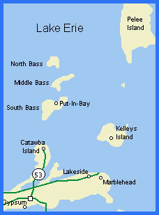 Lake Erie Map